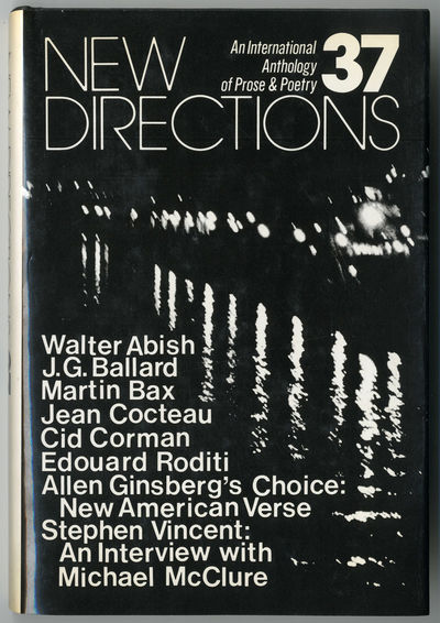 : New Directions, 1978. 184pp. Cloth. First edition. About fine in dust jacket with faint toning to ...