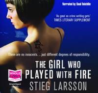 The Girl who Played with Fire (unabridged audio book) [Audiobook] [Unabridged] (Audio CD)