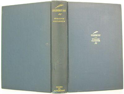 Boni & Liveright, 1926. 1st Edition. Hardcover. Near Fine/No Jacket. A near fine first edition signe...