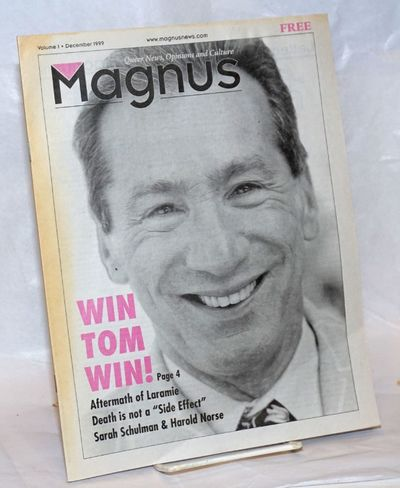 San Francisco: Magnus News, 1999. 30p., 8.5x11 inches, photos, articles, events, resources, opinion,...