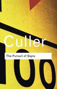 image of The Pursuit of Signs (Routledge Classics)