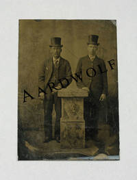 image of Tintype Photograph Of Two Fashionably Dressed Men