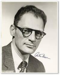 Original Photographic Portrait of Arthur Miller [Signed]