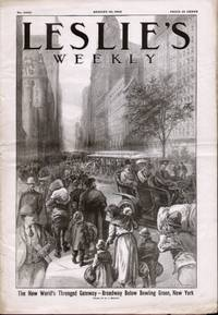 LESLIE'S WEEKLY (CI, NO. 2605)  Oldest Illustrated Weekly in the United  States August 10.1905)