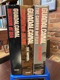 Guadalcanal (3 Volume Set) : Carrier Battles, Starvation Island, Decision At Sea