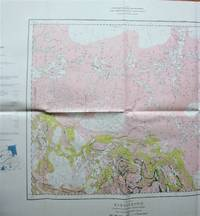 Fold-Out Geological Survey Map in Colour. Map 970a Kississing, Saskatchewan-Mantioba