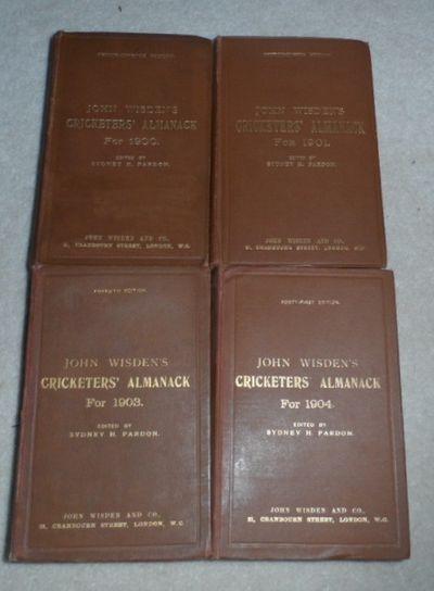 John Wisdens Cricketers Almanack For 1900