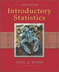 image of Introductory Statistics (6th Edition)