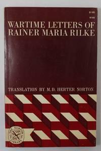 Wartime Letters of Rainer Maria Rilke