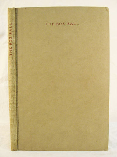 Cedar Rapids: Privately Printed by the Torch Press, 1908. 1st edition (NCBEL III, 831 ). Limited to ...