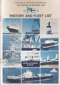 Australian Shipping Commission: The Australian National Line 1956-1981 by  Doug  Lindsay; Robertson - First Edition - 1982 - from Barter Books Ltd and Biblio.com