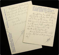 ALS: Two postcards sent to Richard Mealand.
