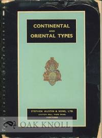 CONTINENTAL AND ORIENTAL TYPE LIST