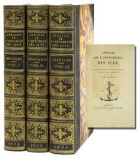 Annales de l'imprimerie des Alde: ou histoire des trois Manuce et de leurs éditions