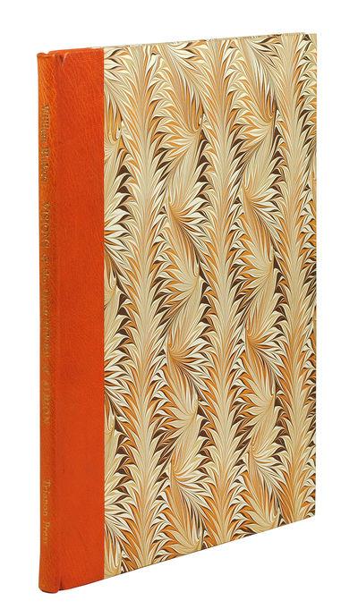 Folio. London: Trianon Press, 1959. Folio, 11 plates, 7 pp. text. Quarter orange morocco, marbled bo...