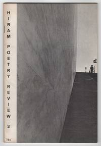 The Hiram Poetry Review 3 (Fall - Winter 1967) - includes an interview with Sun Ra