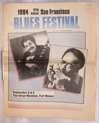 1984 12th annual San Francisco blues festival; free official souvenir program, September 8 & 9, the great meadow, Fort Mason