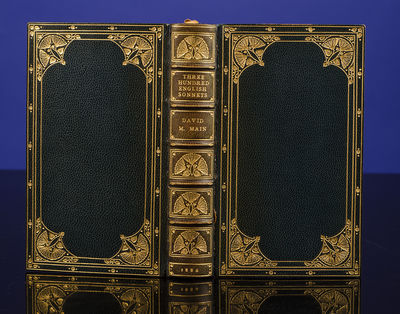 Edinburgh and London: William Blackwood and Sons, 1886. The Sonnets of over eighty Sonneteers... Han...