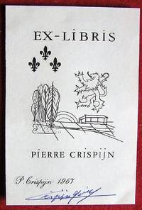 Ex-Libris Québec Pierre Crispijn