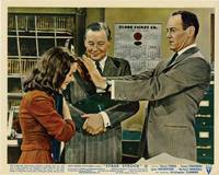 image of Stage Struck (Collection of 8 original British front-of-house cards from the 1958 film)