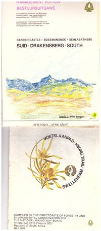 image of HIKING TRAILS x 3 : SUID - DRAKENSBERG - SOUTH;   SWELLENDAM;  and SUIKERBOSRAND