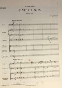 Sinfonia Nr. 95. Herausgegen von H.C. Robbins Landon, Partitur