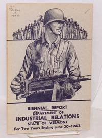 image of Fifteenth biennal report of the Commissioner of Industrial Relations for the two years ending June 30, 1942
