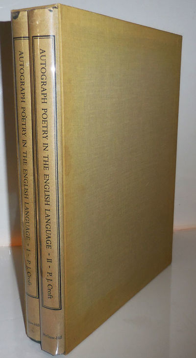 New York: McGraw-Hill Book Company, 1973. First edition. Hardcover. Near Fine/very good. Two hardbou...