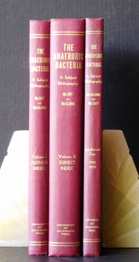 The Anaerobic Bacteria and Their Activities in Nature and Disease: A Subject Bibliography (In Two Volumes). Vol. 1: Chronological Author Index. Vol. 2: Subject Index. Supplement 1: Literature for 1938 and 1939