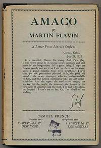 New York: Samuel French, 1933. Hardcover. Near Fine/Near Fine. First edition. Owner name on the fron...