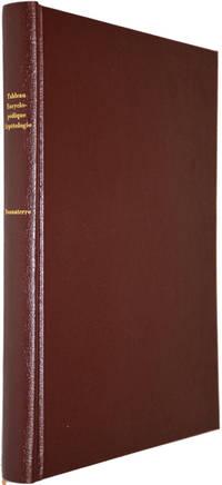 Tableau Encyclopédique et Méthodique des trois règnes de la nature. Erpétologie