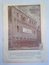 image of The Town Hall Program April 1955 New York