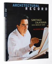 Architectural Record Magazine May 2005, 05/2005: Santiago Calatrava, Gold Medalist 2005