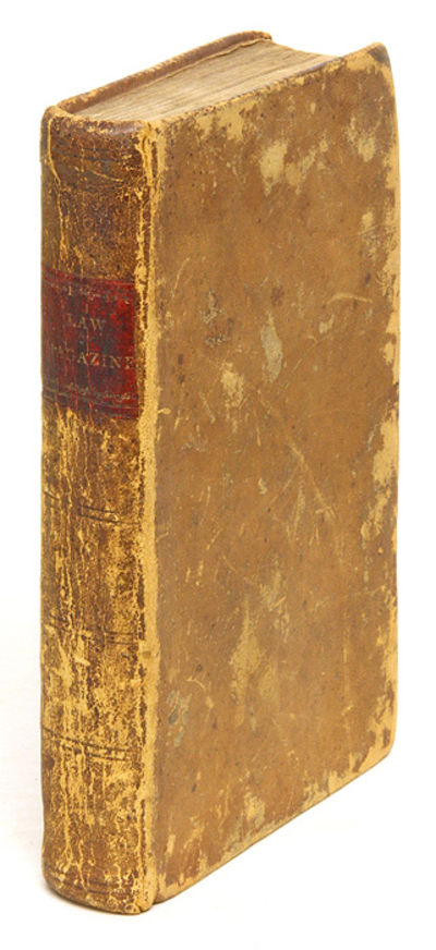1804. Uncommon 1804 Vermont Legal Formbook . The Gentleman's Law Magazine: Containing a Variety of t...
