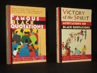 Famous Black Quotations; Victory of the Spirit. Meditations on Black Quotations