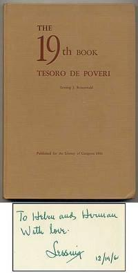 The 19th Book Tesoro de Poveri