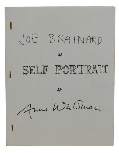 New York: Siamese Banana Press, 1972. First Edition. Near Fine. First edition. Side-stapled mimeogra...