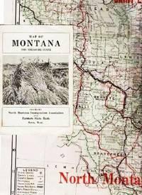 MAP OF MONTANA, THE TREASURE STATE