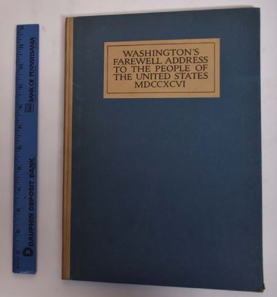 Boston / New York: Houghton Mifflin, 1913. Hardcover. VG (light wear to boards and spine as expected...