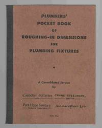Plumbers' Pocket Book of Roughing-In Dimensions for Plumbing Fixtures