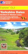 image of Yorkshire Dales - Southern and Western Areas (OS Explorer Map Active)