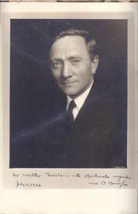 WILLIAM O. DOUGLAS. U. S. SUPREME COURT JUSTICE. PHOTOGRAPHIC PORTRAIT, INSCRIBED.