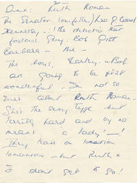 image of Archive including six letters from Patricia Hitchcock to Peter Halliday regarding