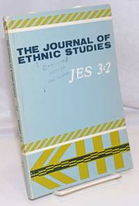 image of The Journal of ethnic studies; volume 3, number 2, Summer 1975