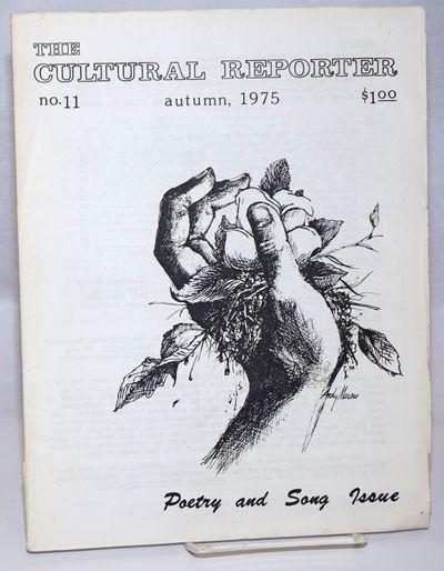 New York: the journal, 1975. 31p., wraps, 8.5x11 inches, illus., wraps worn and soiled, rear wrap li...