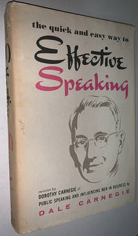 image of The Quick and Easy Way to Effective Speaking by Dale Carnegie