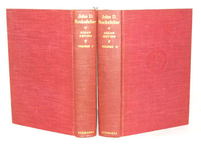 New York: Charles Scribner's sons, 1940. First Edition. Both volumes of this two volume set are in f...