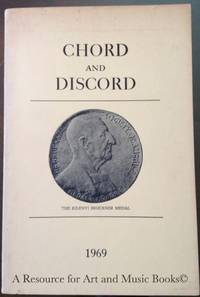 Chord and Discord: A Journal of Modern Musical Progress: Vol. 3, No. 1 by  edited by  Charles L. - Paperback - 1969 2019-08-22 - from Resource for Art and Music Books (SKU: 161222015)