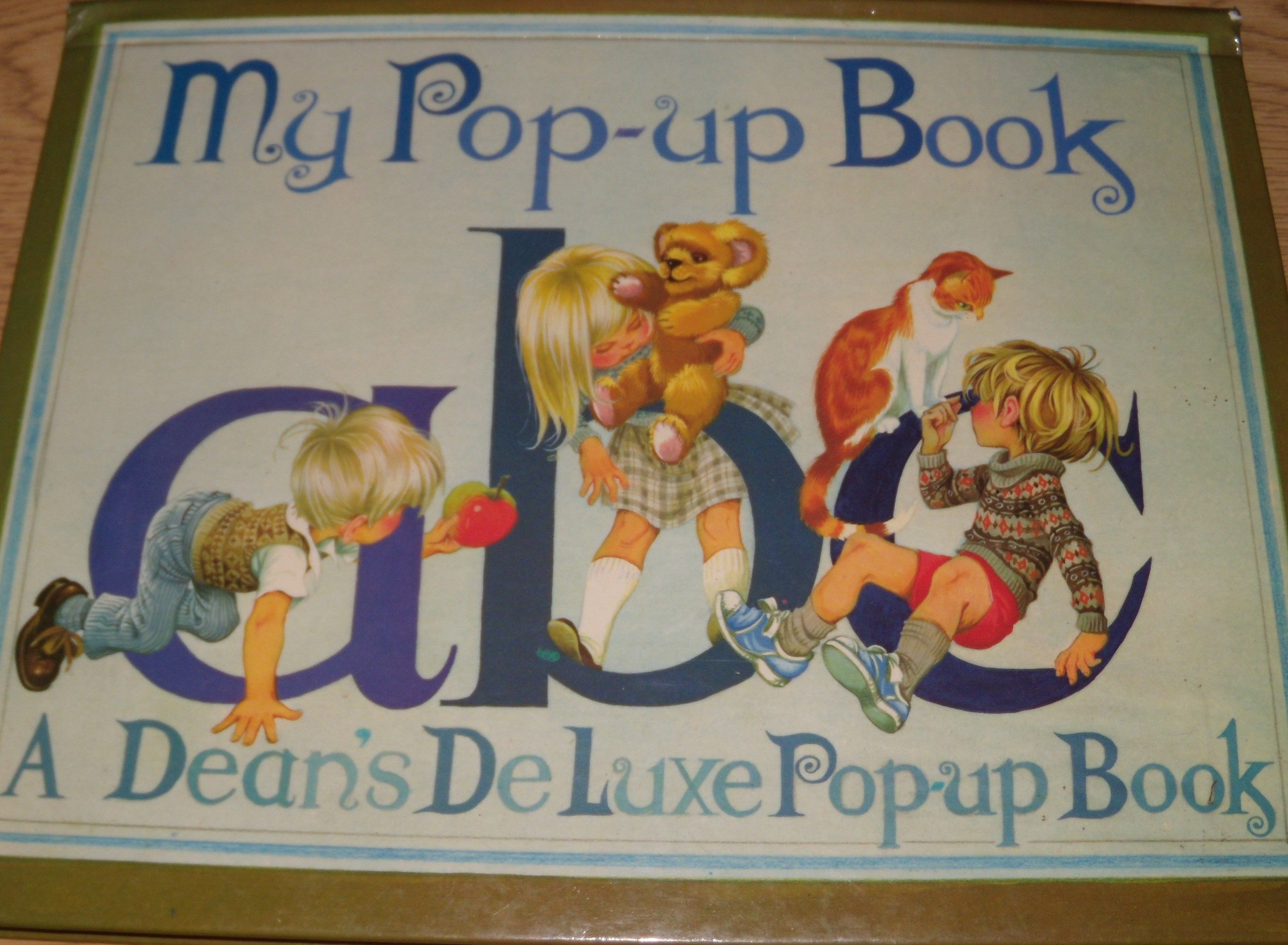 My Pop-Up Team of Fairy Tales/My Pop-Up Book ABC by No Author - Hardcover -  1982 - from T W  & Barbara Clemmer and Biblio com