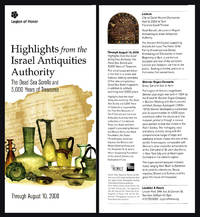 Highlights from the Israel Antiquities Authority: The Dead Sea Scrolls and 5,000 Years of Treasures